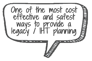 Speech Bubble - Whole of Life - Legacy / IHT Planning