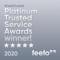 Feefo 2020 Awards IG Platinum